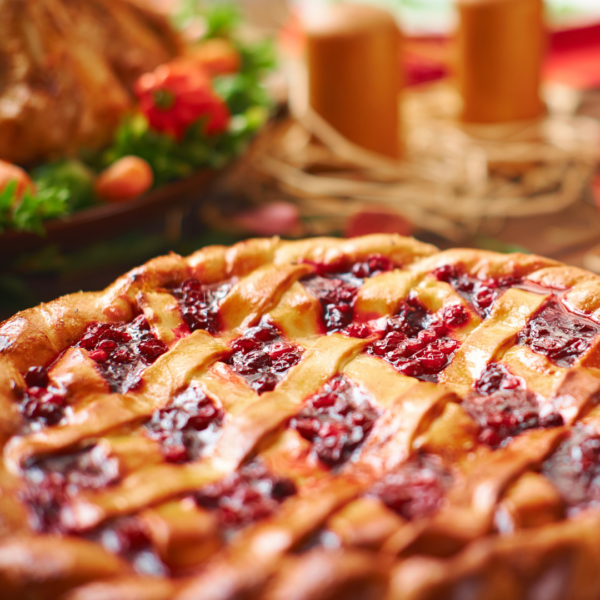 crostata de Almendra y picotas